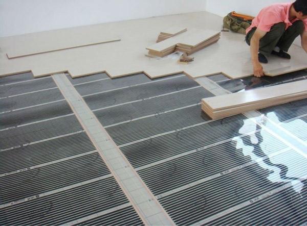 Инфракрасный тёплый пол — превосходит обычную систему отопления сжигающую топливо Архитектура