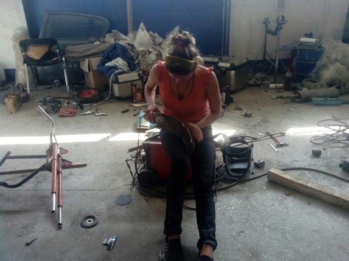 Детский байк своими руками мастерская