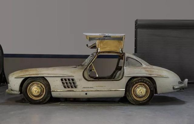 Уникальный Mercedes-Benz 300SL Gullwing, который простоял в гараже 60 лет Всячина