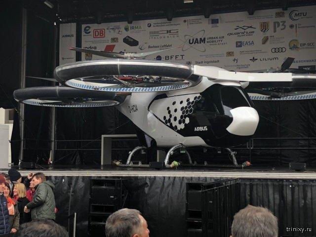 Airbus приступит к испытаниям аэротакси CityAirbus в Германии. МиР