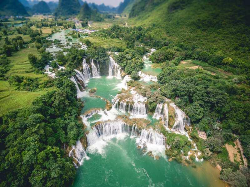 Водопады Вьетнама: местонахождение и особенности Путешествия