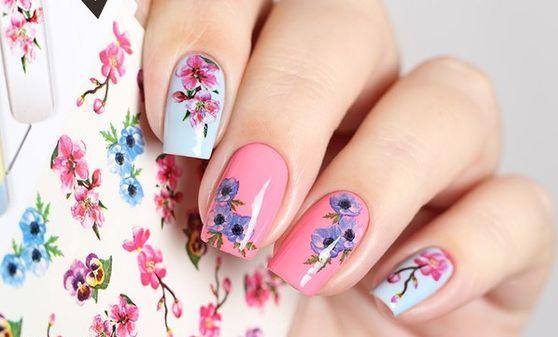 Как наклеивать наклейки на гель-лак: полезные советы. Дизайн ногтей с наклейками Мода и стиль