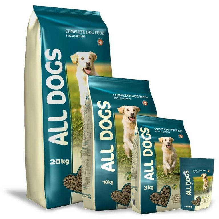 Корм для собак All Dogs: обзор состава и отзывы Животные