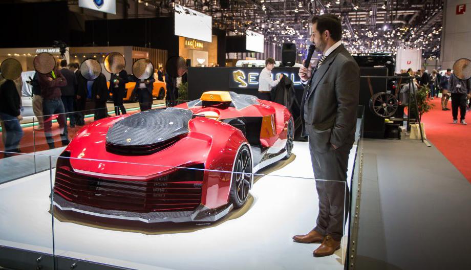Странный аппарат Engler F.F. Superquad дебютировал в Женеве Авто и мото