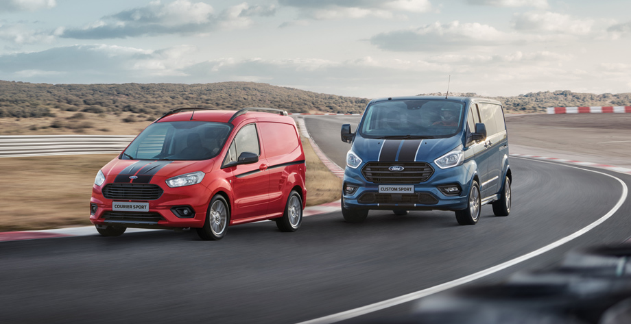 Вэн Ford Transit Custom Sport похвастал форсированным дизелем Авто и мото