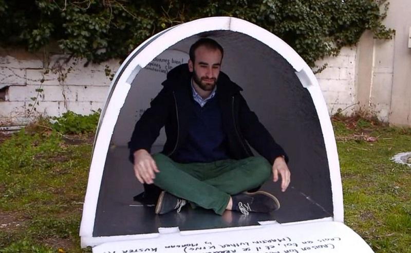 Как устроено иглу для бездомных Вдохновение