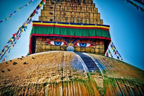 Буддийская ступа в Боднатхе и ее легенды Путешествие и отдых