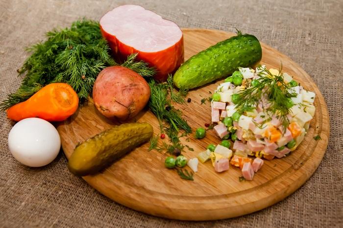 Подборка салатов к Пасхе кулинария