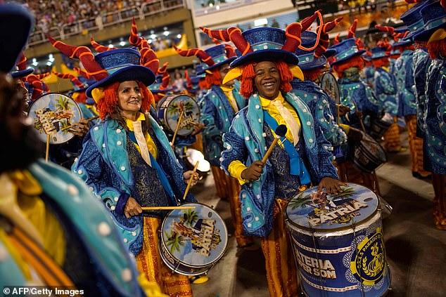 В зажигательном ритме самбы: самое яркое зрелище года — красочный карнавал в Рио-де-Жанейро Искусство