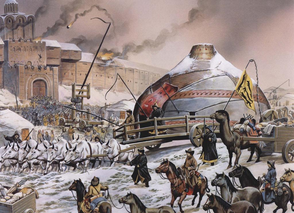 Как Киев пал под натиском монголов История