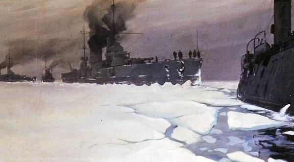 «Ледовый поход» Балтийского флота История