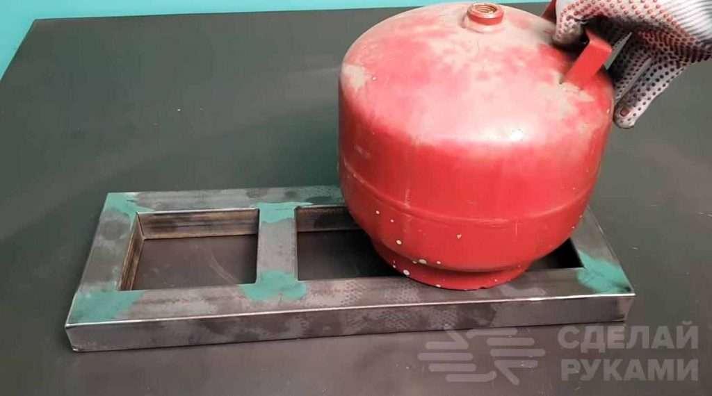 Компрессор для покраски из двигателя от холодильника Самоделки