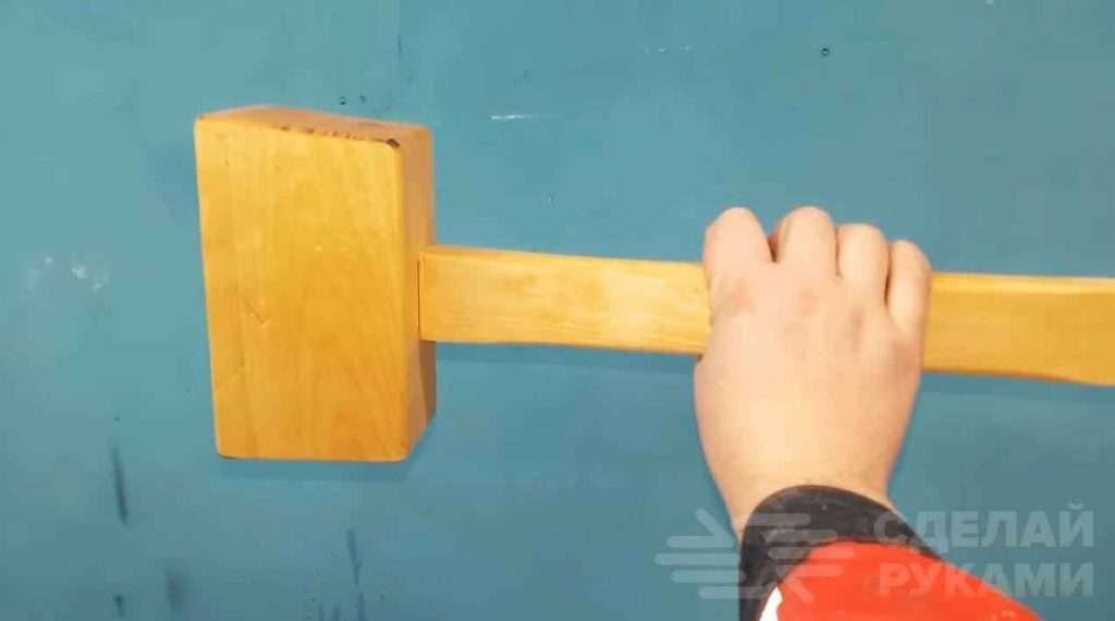 Как самому сделать столярную киянку из дерева Самоделки