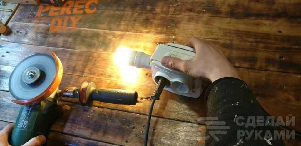 Как сделать универсальную розетку ремонтника своими руками Самоделки