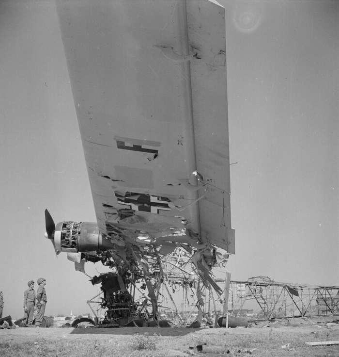 Чудо-оружие Рейха: военно-транспортный самолет Me.323 Gigant Интересное