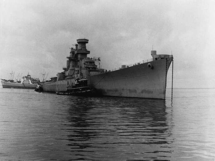 Линейный крейсер типа «Аляска» интересное