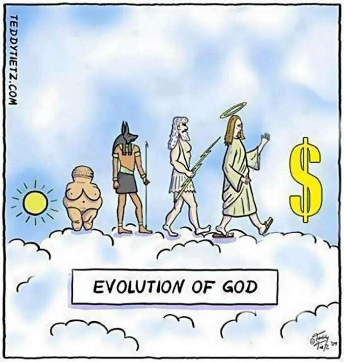 15 картинок о том, как работает эволюция Интересное