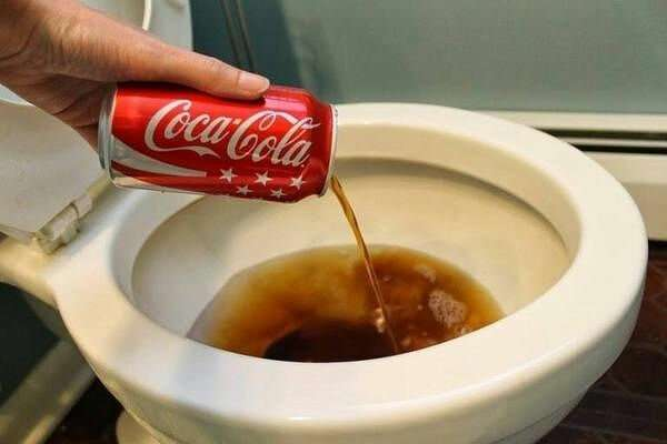 Нестандартное использования Coca-Cola Интересное
