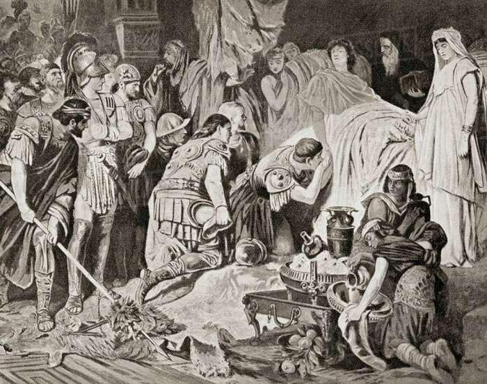 Смерть великих полководцев древности Интересное