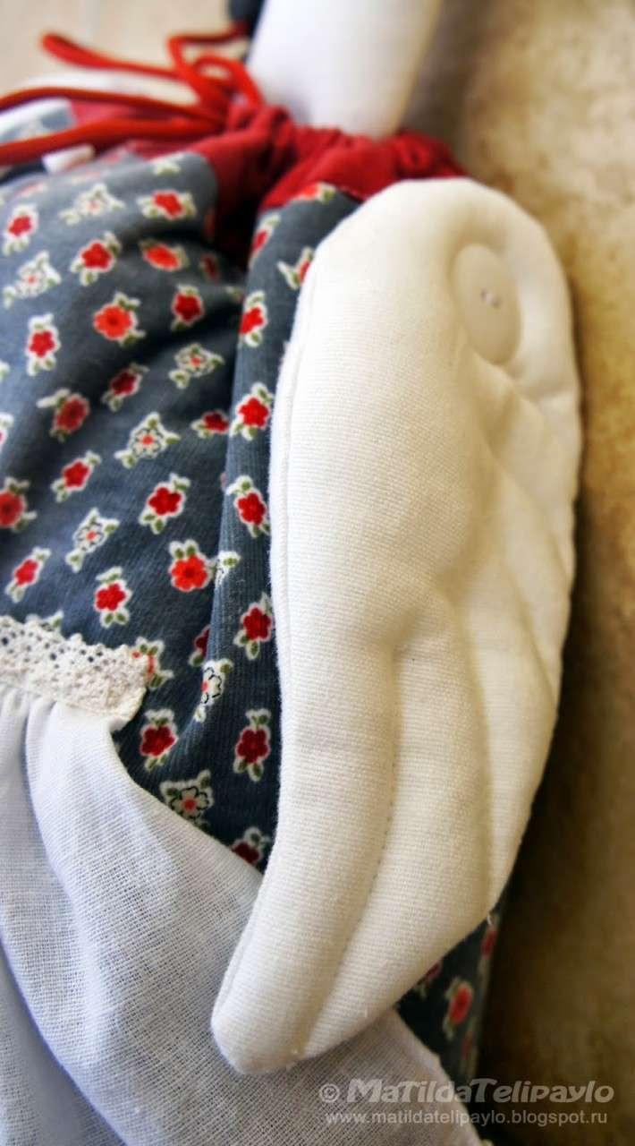 Вот такая милая, очаровательная,функциональная пакетница-Гусыня, сделанная своими руками) handmake