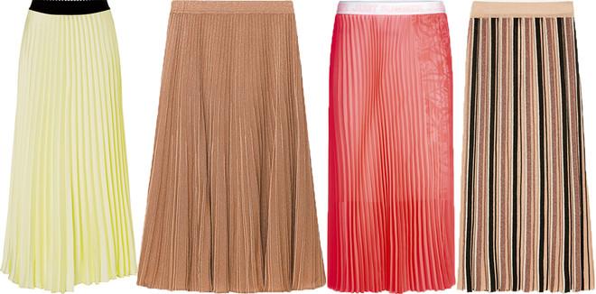 Тренд сезона: юбки плиссе лучшее