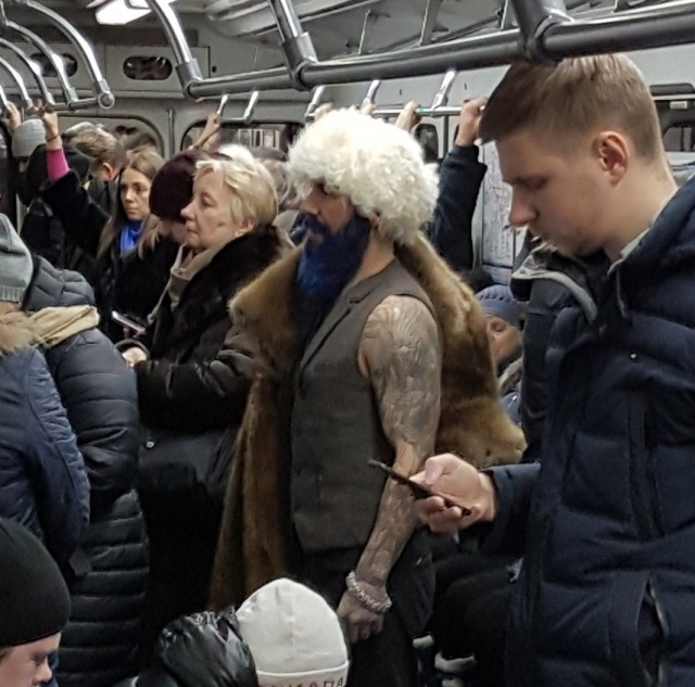 Странные модники в нашем метро смешные картинки
