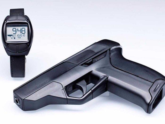 Создан «умный» пистолет, который стреляет только из руки своего хозяина интересное