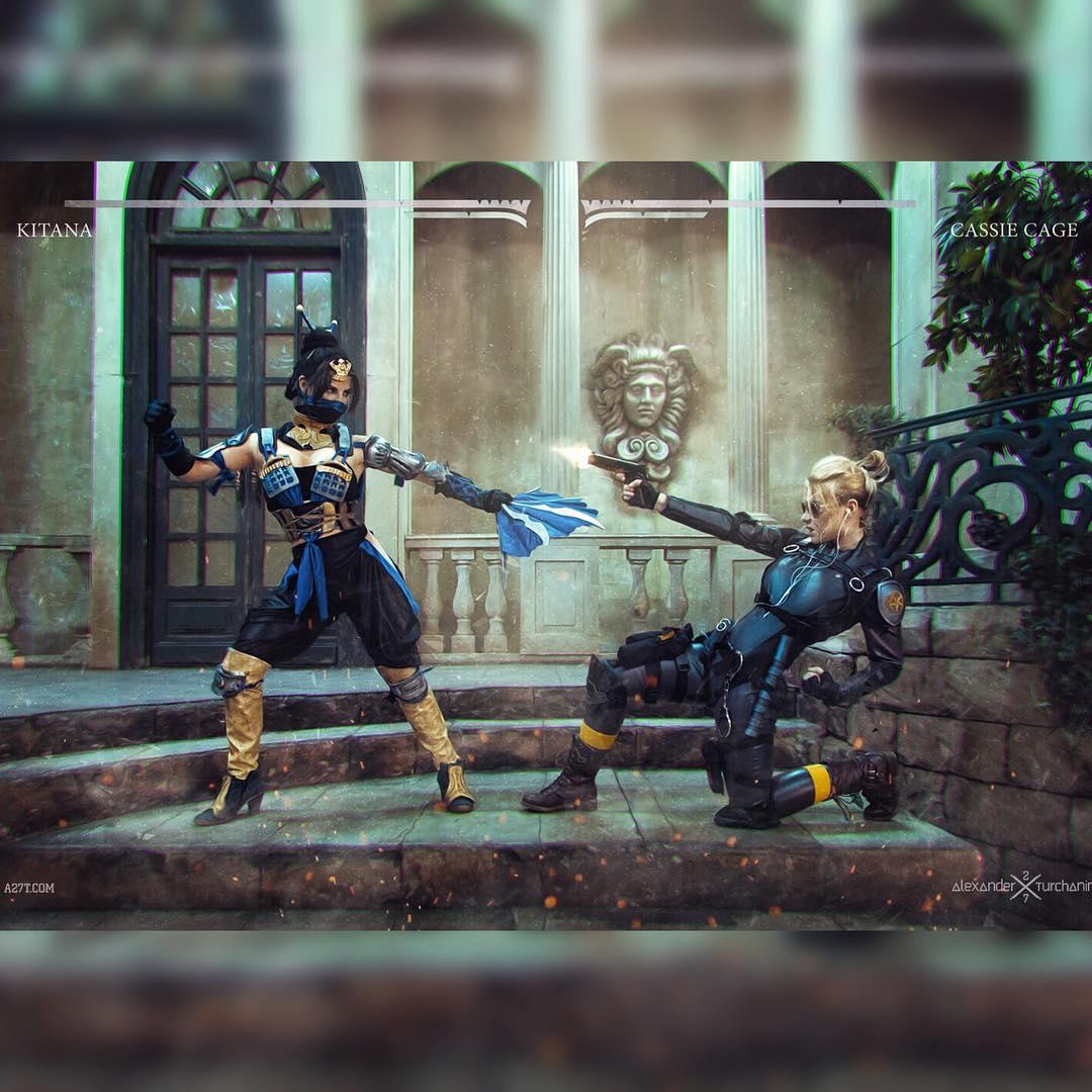 Mortal Kombat: Кэсси Кейдж косплей от Ирины Мейер Игры