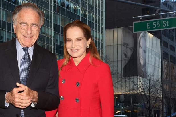 Миллиардер разместил на здании напротив окон квартиры бывшей жены фотографию новой супруги