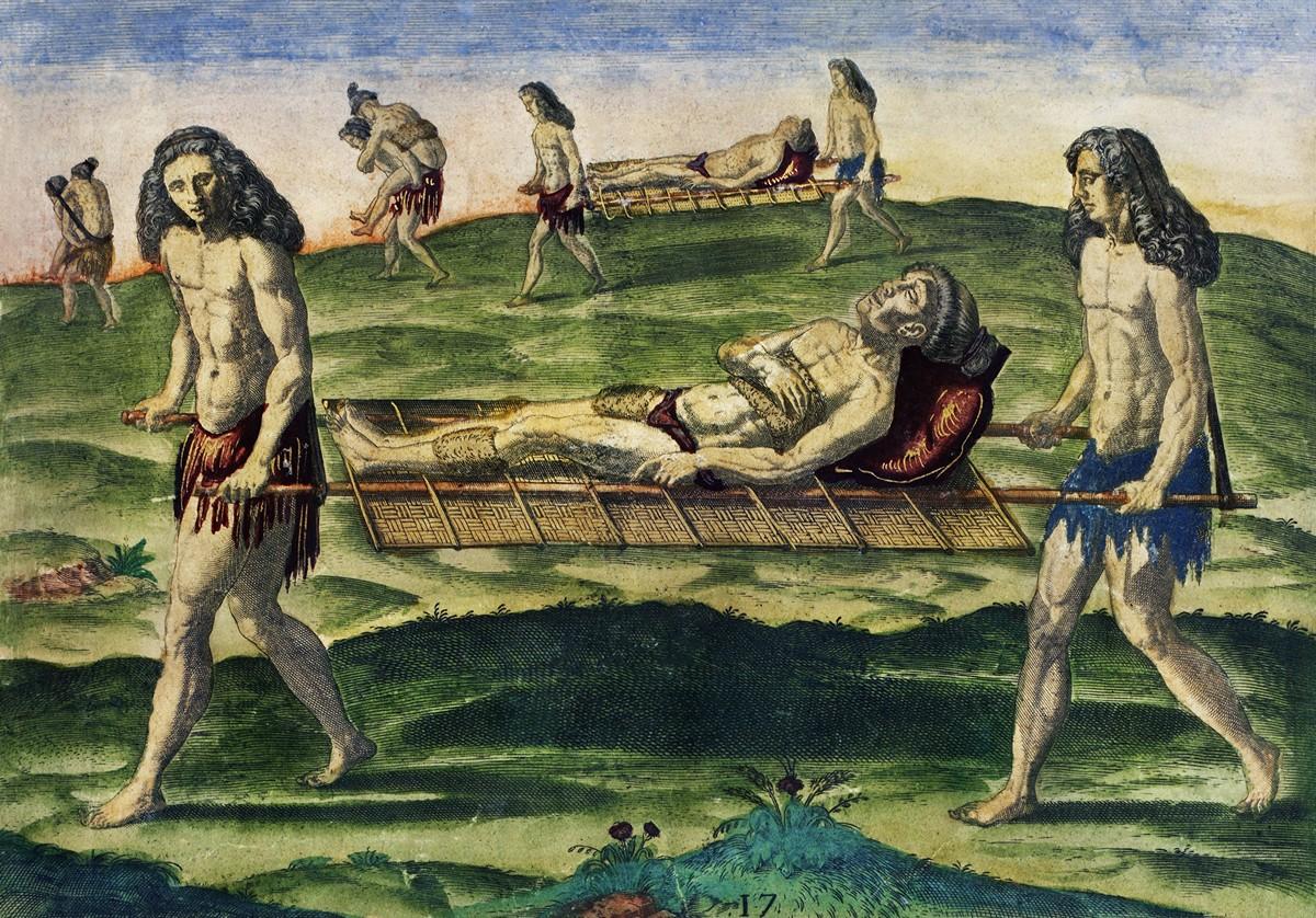 «Великие путешествия»: быт и нравы индейцев Нового Света в гравюрах Теодора де Бри