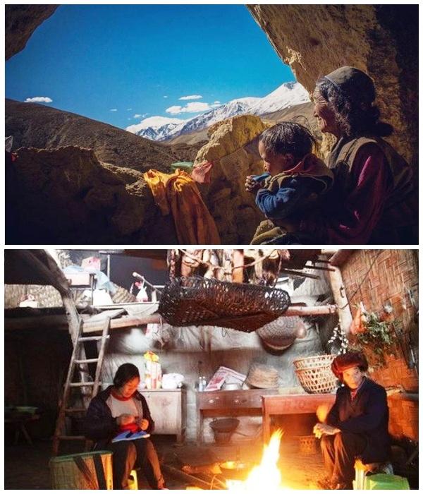 Пещерные люди в современном Китае: Что держит жителей деревни под сводами скал Китай