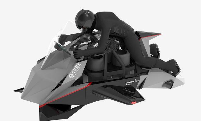 Летающий мотоцикл из Звездных войн: 400 тысяч и он ваш Вещи