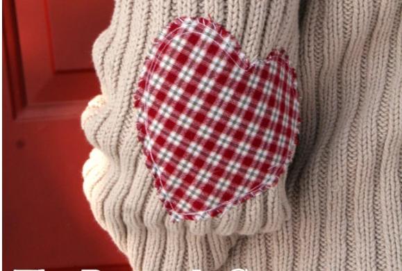 Переделка: из обычного трикотажного джемпера делаем симпатичную кофту женские хобби