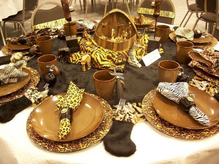 Жаркие элементы кухни в африканском стиле аксессуары
