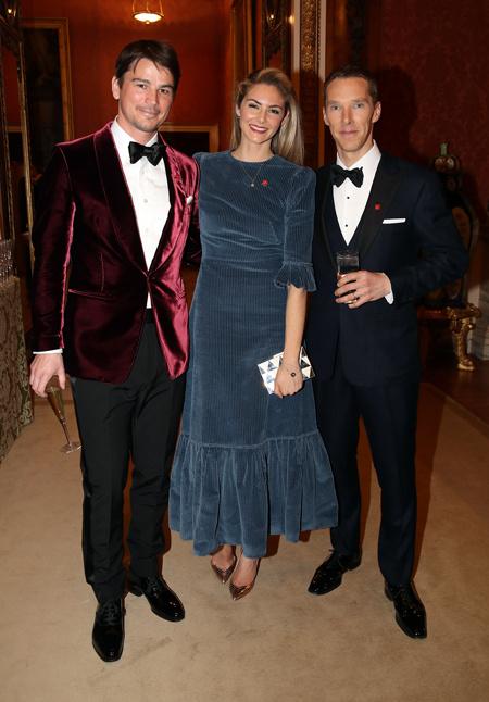 Амаль и Джордж Клуни, Бенедикт Камбербэтч и другие на приеме у принца Чарльза Стиль жизни / Благотворительность