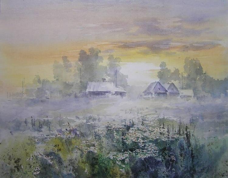 Художник Игорь Хайков. Акварели