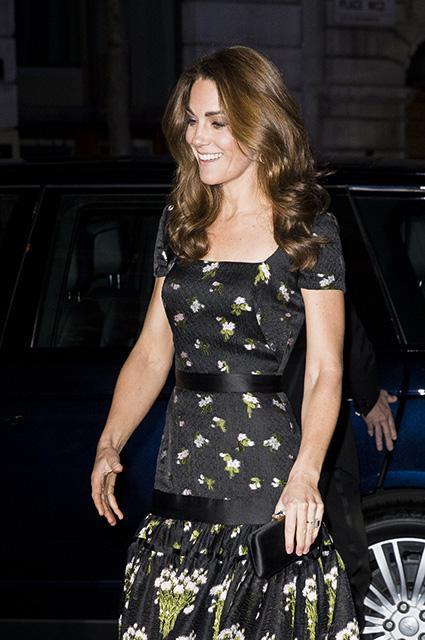 Кейт Миддлтон посетила гала-вечер в Национальной портретной галерее в Лондоне Монархии