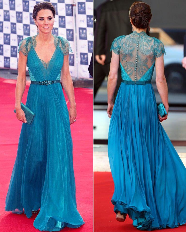 Коронный выход - великолепные вечерние платья герцогини Кембриджской Кэтрин иконы моды
