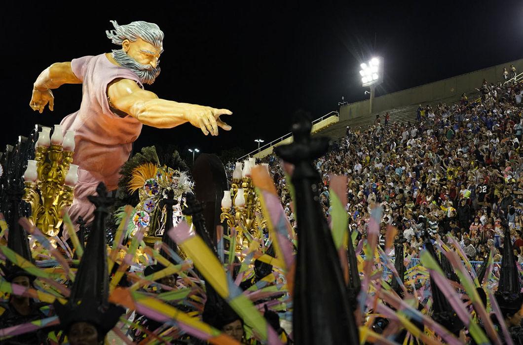 Бразильский карнавал в фотографиях Путешествия