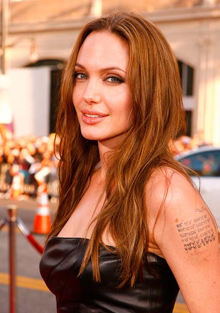 Имя - это скучно: Джессика Альба, Анджелина Джоли и другие звезды, сделавшие необычные тату в честь своих детей Дети / Дети знаменитостей