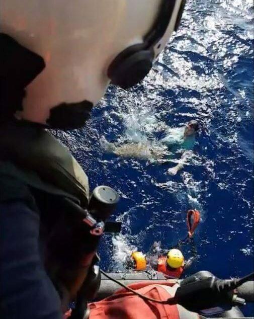 Джинсы спасли немцу жизнь в море
