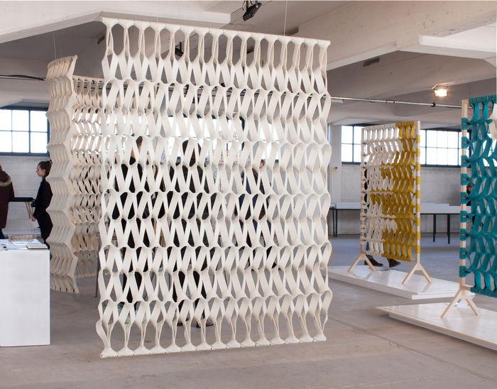 Трехмерные шторы: новое решение проблем звукоизоляции и зонирования Зонирование пространства