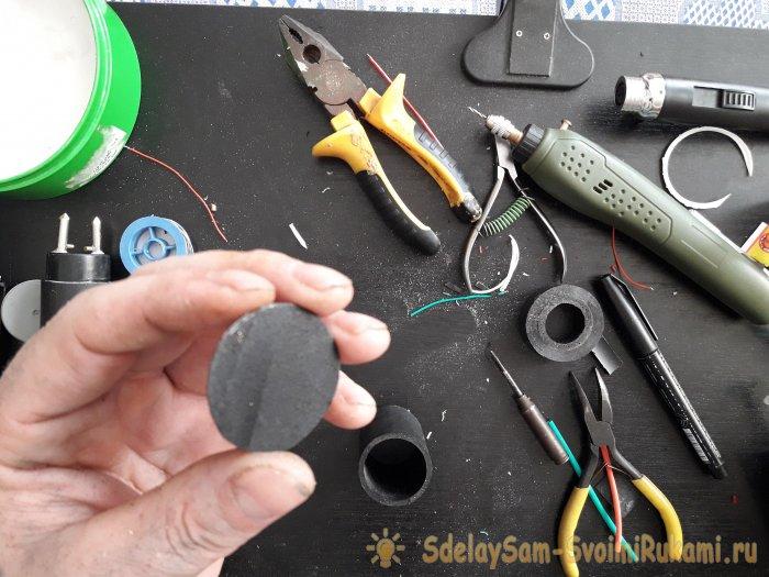 Как сделать простой электрошокер сделай сам