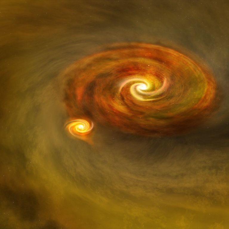 Астрономи відкрили саму тісну пару зірок в подвійній системі